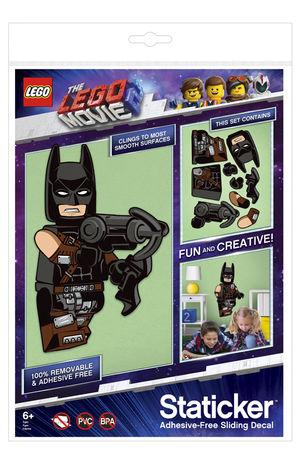 Staticker de Batman en LEGO Movie 2