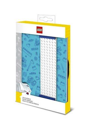 Libreta Lego con banda azul