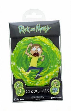 Portavasos lenticular Rick and Morty