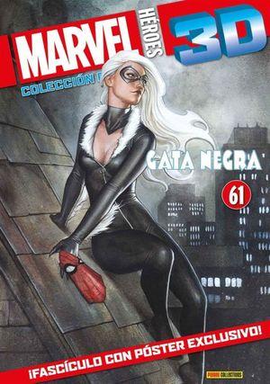 MARVEL HEROES 3D #61. GATA NEGRA