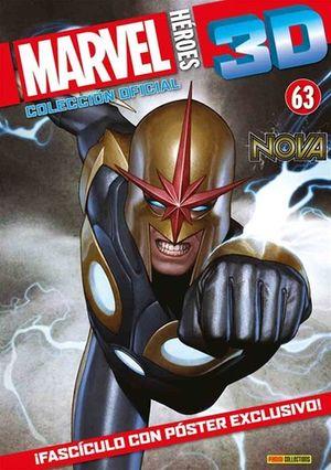 MARVEL HEROES 3D #63. NOVA