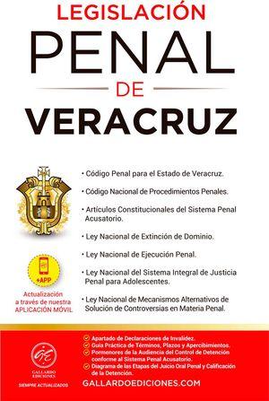 Legislación Penal de Veracruz 2021 / 4 ed.