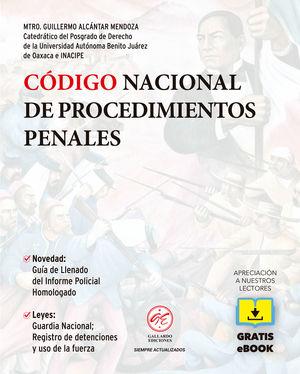 Código Nacional de Procedimientos Penales 2021 (Bolsillo) + Ebook / 6 ed.