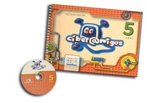 PAQ. CIBERAMIGOS 5 AÑOS. PREESCOLAR (LIBRO + CD)