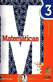 MATEMATICAS 3 HORIZONTES PRIMARIA (INCLUYE CD)