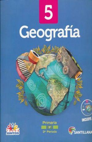 PAQ. GEOGRAFIA 5 LIBRO DEL ALUMNO PRIMARIA