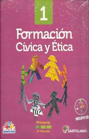 PAQ. FORMCION CIVICA Y ETICA 1 LIBRO DEL ALUMNO PRIMARIA