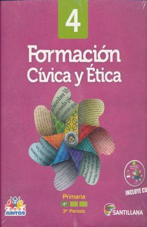FORMACION CIVICA Y ETICA 4 LIBRO DEL ALUMNO PRIMARIA (INCLUYE CD)