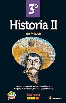 HISTORIA DE MEXICO 2 TODOS JUNTOS TERCER GRADO SECUNDARIA (INCLUYE CD)