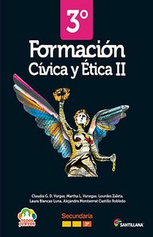 FORMACION CIVICA Y ETICA 2 TODOS JUNTOS TERCER GRADO SECUNDARIA (INCLUYE CD)