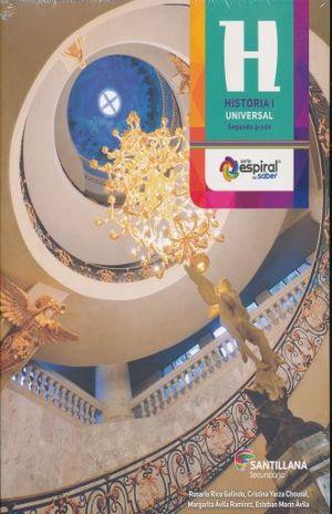 PAQ. HISTORIA UNIVERSAL 1 ESPIRAL DEL SABER SEGUNDO GRADO SECUNDARIA (LIBRO + CD)