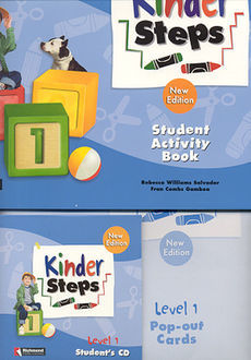 KINDER STEPS 1. STUDENT ACTIVITY BOOK (INCLUYE CD)