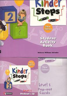 KINDER STEPS 2 STUDENT ACTIVITY BOOK (INCLUYE CD)