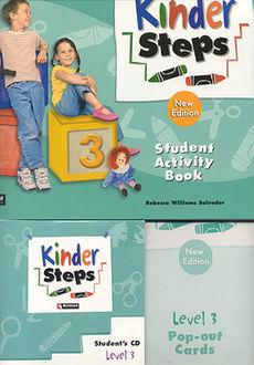 KINDER STEPS 3 STUDENT ACTIVITY BOOK (INCLUYE CD)