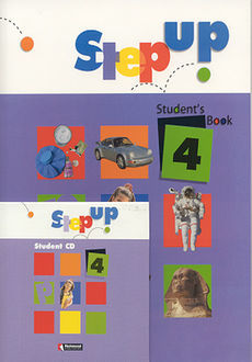 STEP UP 4 STUDENTS BOOK (INCLUYE CD)