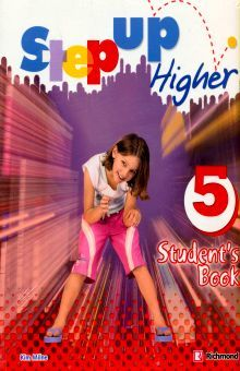 PAQ. STEP UP HIGHER 5. STUDENTS BOOK (INCLUYE CD)