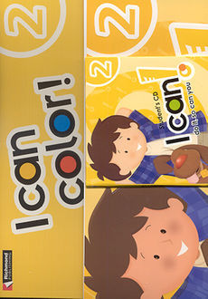 PACK I CAN COLOR 2 (STUDENT BOOK + CD + I CAN COLOR)