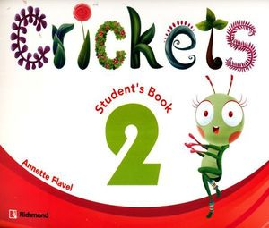 PAQ. CRICKETS 2 (STUDENTS BOOK + CD + TALES)