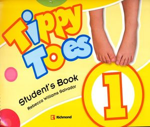 PAQ. TIPPY TOES 1 (STUDENTS BOOK + CD + STICKERS + MFL + CD A)