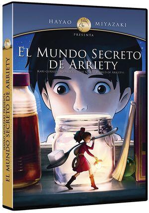 MUNDO SECRETO DE ARRIETY, EL / DVD