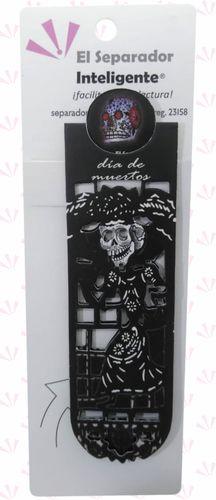 Catrina de papel picado negro