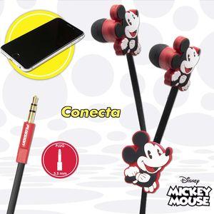 Audífono estéreo relieve Mickey Disney