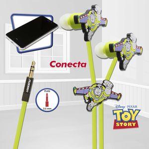 Audífono estéreo relieve Buzz Disney