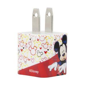 Clavija cargador 1 entrada Disney Mickey 2