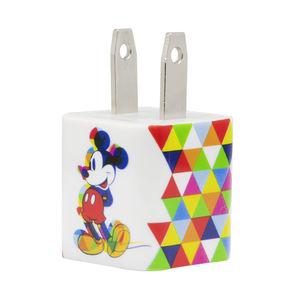 Clavija cargador 1 entrada Disney Mickey