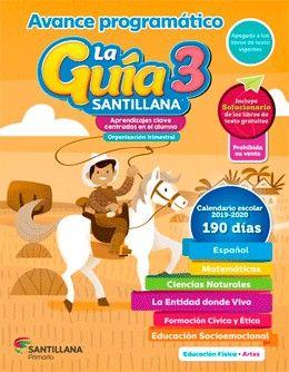 Paq. La guía Santillana 3 Primaria + Alas de papel + Auxiliar de Matemáticas + Educación Socioemocional