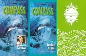 PAQ. COMPASS LEVEL 2 LANGUAGE LOG / BONDING BOOKLET 2 / INCLUYE CUADERNO CAPTAINS LOG