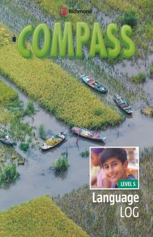 PAQ. COMPASS LEVEL 5 LANGUAGE LOG / BONDING BOOKLET 5 / INCLUYE CUADERNO CAPTAINS LOG