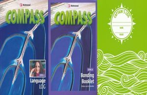 PAQ. COMPASS LEVEL 6 LANGUAGE LOG / BONDING BOOKLET 6 / INCLUYE CUADERNO CAPTAINS LOG
