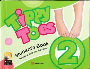 Pack Tippy Toes 2 (Student's Book + CD + Stickers + MF + CD B)