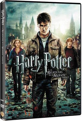 HARRY POTTER  LAS RELIQUIAS DE LA MUERTE / PARTE 2 / DVD