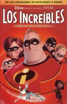 INCREIBLES, LOS / DVD