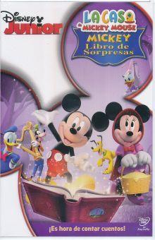 CASA DE MICKEY MOUSE, LA / LIBRO DE SORPRESAS / DVD