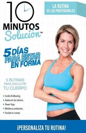 10 MINUTOS. 5 DIAS PARA ESTAR EN FORMA / LA RUTINA DE LOS PROFESIONALES / DVD