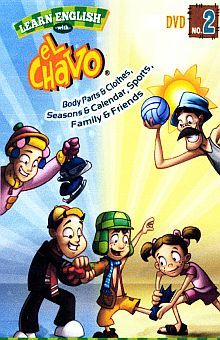 PAQ. EL CHAVO. LEARN ENGLISH (DVD + ACTIVITY BOOK)