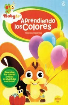 APRENDIENDO LOS COLORES / BABY TV / DVD