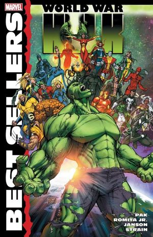 HULK. WORLD WAR. MARVEL BEST SELLERS