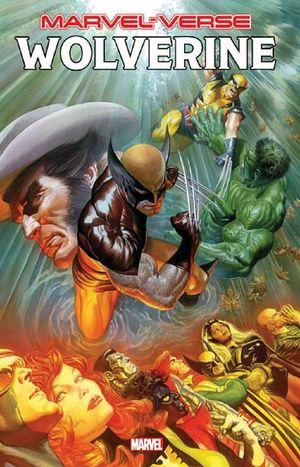 Wolverine. Marvel-Verse / Historias que los hicieron leyenda