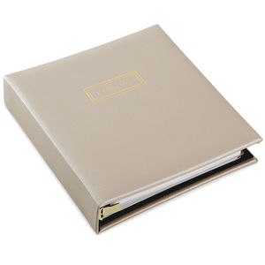 Cream PU Address Book (2499ADD9808)