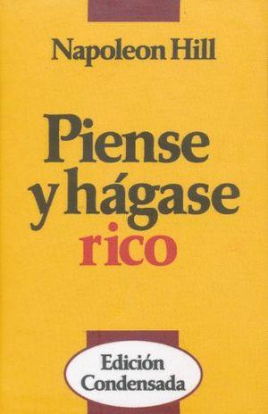 PIENSE Y HAGASE RICO / PD. (MINILIBRO)