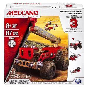 Meccano. Camion de Bomberos