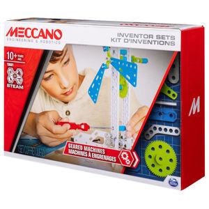 Set 3 Inventor Mecánico. Meccano