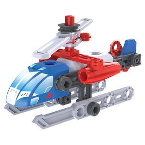 Helicóptero. Meccano Erector Discovery mis primeros vehículos Jr.