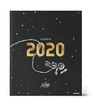 AGENDA ENCUADERNADA 2020 QUINO (MODELO COLOR NEGRO)