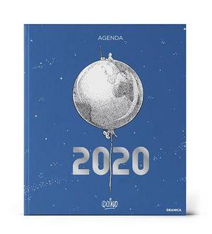 AGENDA ENCUADERNADA 2020 QUINO (MODELO COLOR AZUL)