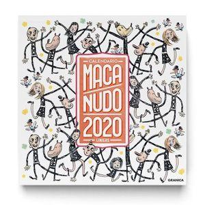 CALENDARIO DE PARED 2020 MACANUDO